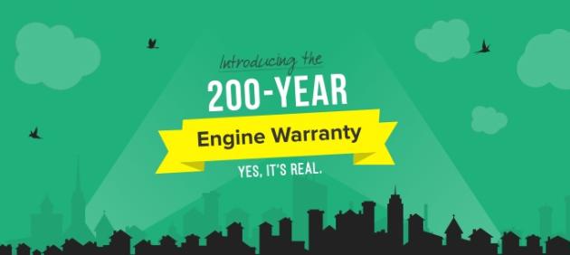 200-year warranty